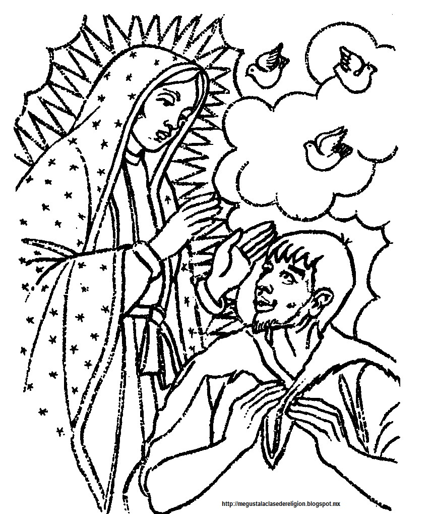 adult beauty la virgen de guadalupe coloring pages images dashah